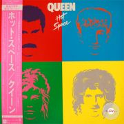 Queen ‎– Hot Space (Japan)